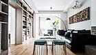 112㎡现代风三居,没有走廊的设计,空间利用率极高!
